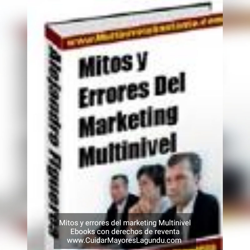 Mitos y errores del marketing Multinivel ebook con derechos de reventa